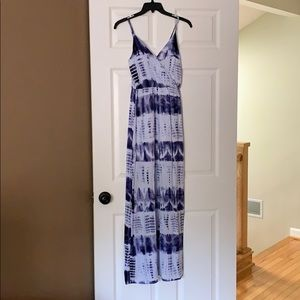 Beautiful tie dye maxi dress